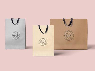 Shopping Bags Mockups