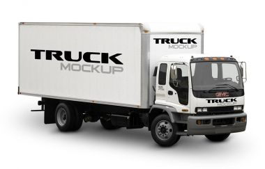 Big Truck Mockup