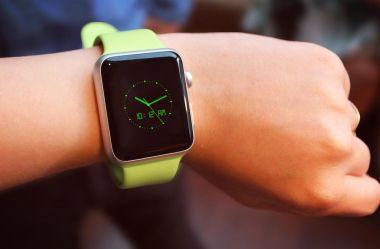 PSD Mockup Apple Watch Sport