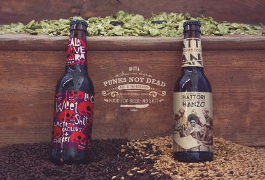 Two Beer Bottles Mockup