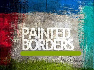 Paint Borders Brushes