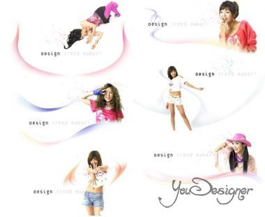 Collection Lovely Psd Girl Source Pack 4