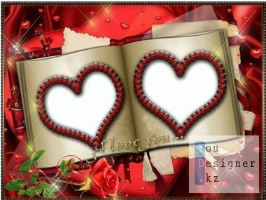 Photo frame - love Story