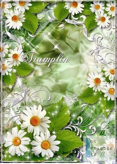 Photo frame - Нагадай chamomile happiness