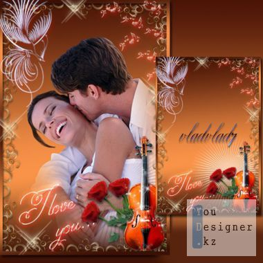 Romantic Photoframe - Melody of Love