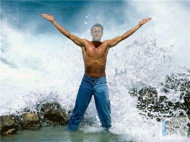 Шаблон для фотошопа -  Пусть сильнее грянет буря / Template for photoshop - Let stronger than the storm