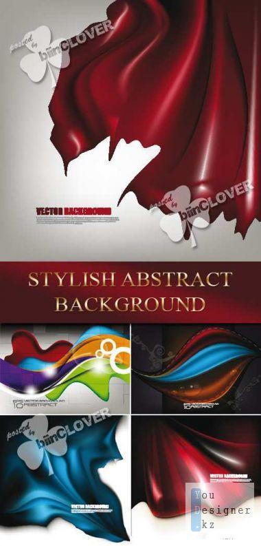 Векторные абстрактные стильные фоны / Vektor Stylish abstract background
