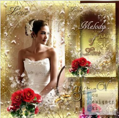 Wedding frame - Melody of love