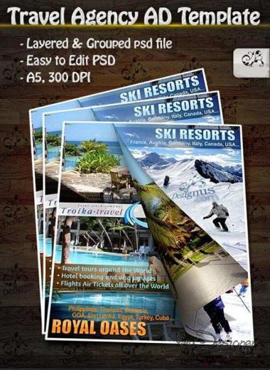 Travel Agency AD Template