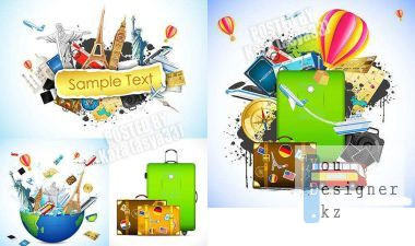 Vector clipart - Travel 2