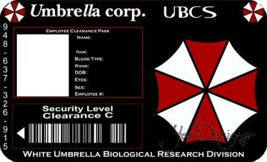 Umbrella ID Card
