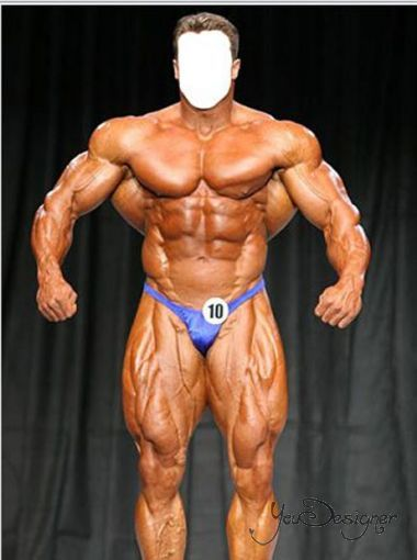 Male-pattern - the competition For bodybuilding
