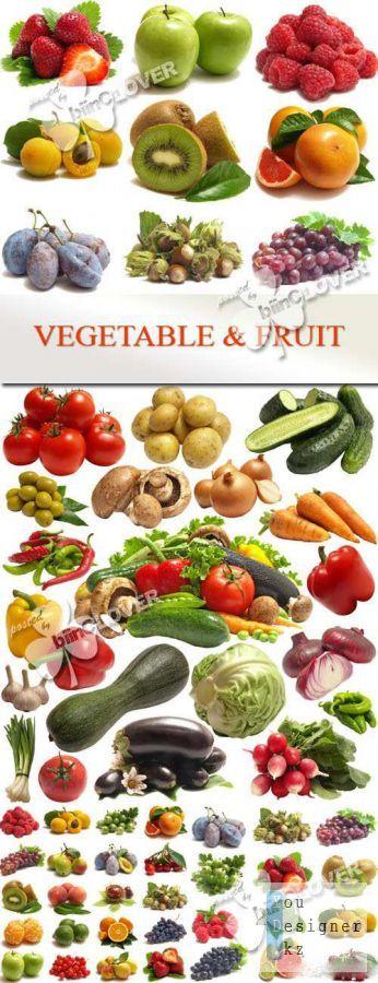 Клипарт - Овощи и фрукты / Clip art - Vegetable and fruit