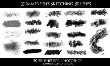 Zummerfish Sketching Brushes