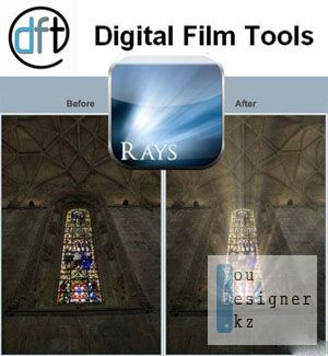 Плагин Digital Film Tools Rays v1.0.1