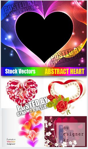 Stock Vectors - Abstract Heart