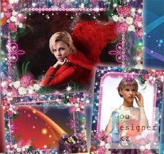 Рамка для фотошопа-В подарок / Frame for photoshop-AS a gift