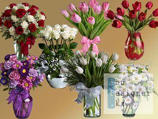 Клипарт-Вазы с цветами