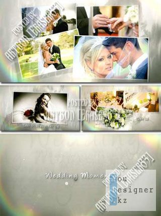 Wedding Moment - Project for After Effects