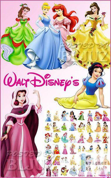 Принцессы Уолта Диснея / Walt Disney Princesses