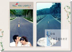 Шаблон свадебного альбома - Для Вас / Wedding Photo Templates - Gently tell you (page 2)