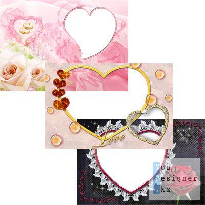 Коллекция рамок Любовь №4