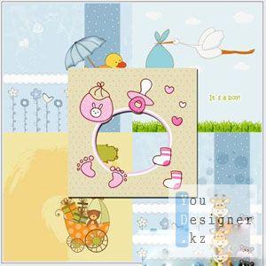 Заготовки - детские рамки для Фотошопа