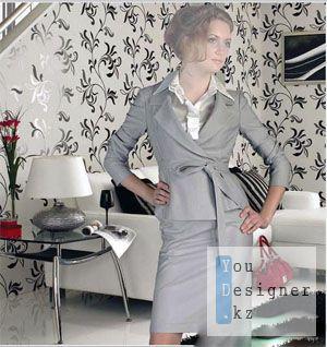 Женский шаблон для фотомонтажа - Бизнес Леди / Women's template for photoshop - Business Lady