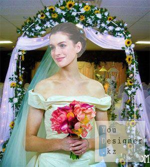 Женский шаблон для фотошопа - Невестушка
