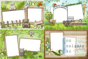 Рамки для фото - Поход в зоопарк / Frame for photo - Trip to zoo